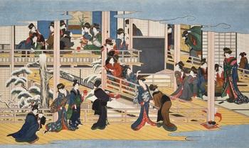 喜多川歌麿「深川の雪」4 - コピー.jpg