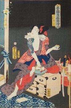 歌川豊国「豊国漫画図絵 弁天小僧菊之介」(1860).jpg