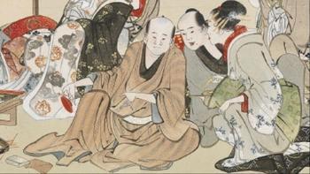 葛飾北斎「隅田川両岸景色図巻」(新吉原室内)2.jpg