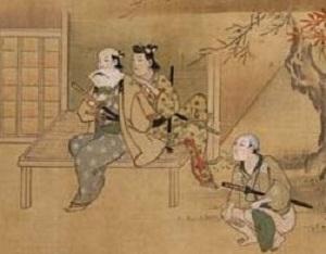 菱川師宣「北楼及び演劇図鑑」1-2.jpg